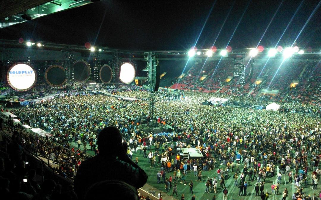 Coldplay al estilo carioca